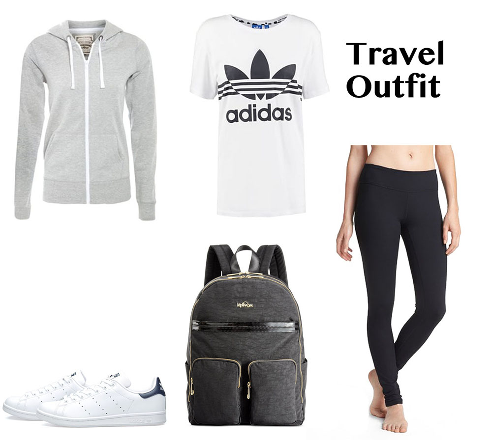 comfotable travel outfit
