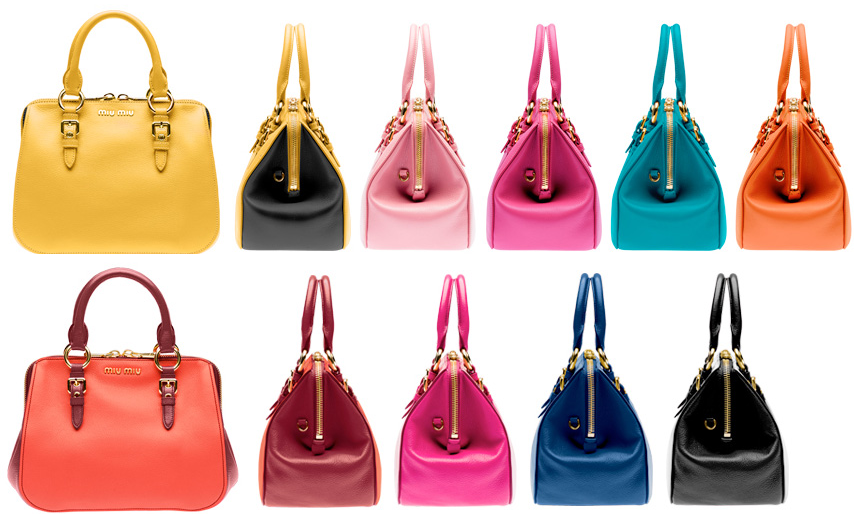 3bfe798b29b6 Miu Miu Presents New Selection Of The Iconic Replica Handbags Miu Miu  Amiulet Replica Bags