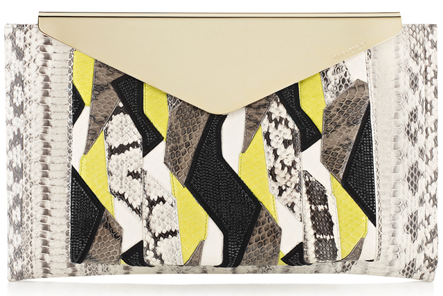 Jimmy-Choo-Charlize-L-Patchwork-Elaphe-Clutch-Bag-with-Crystals