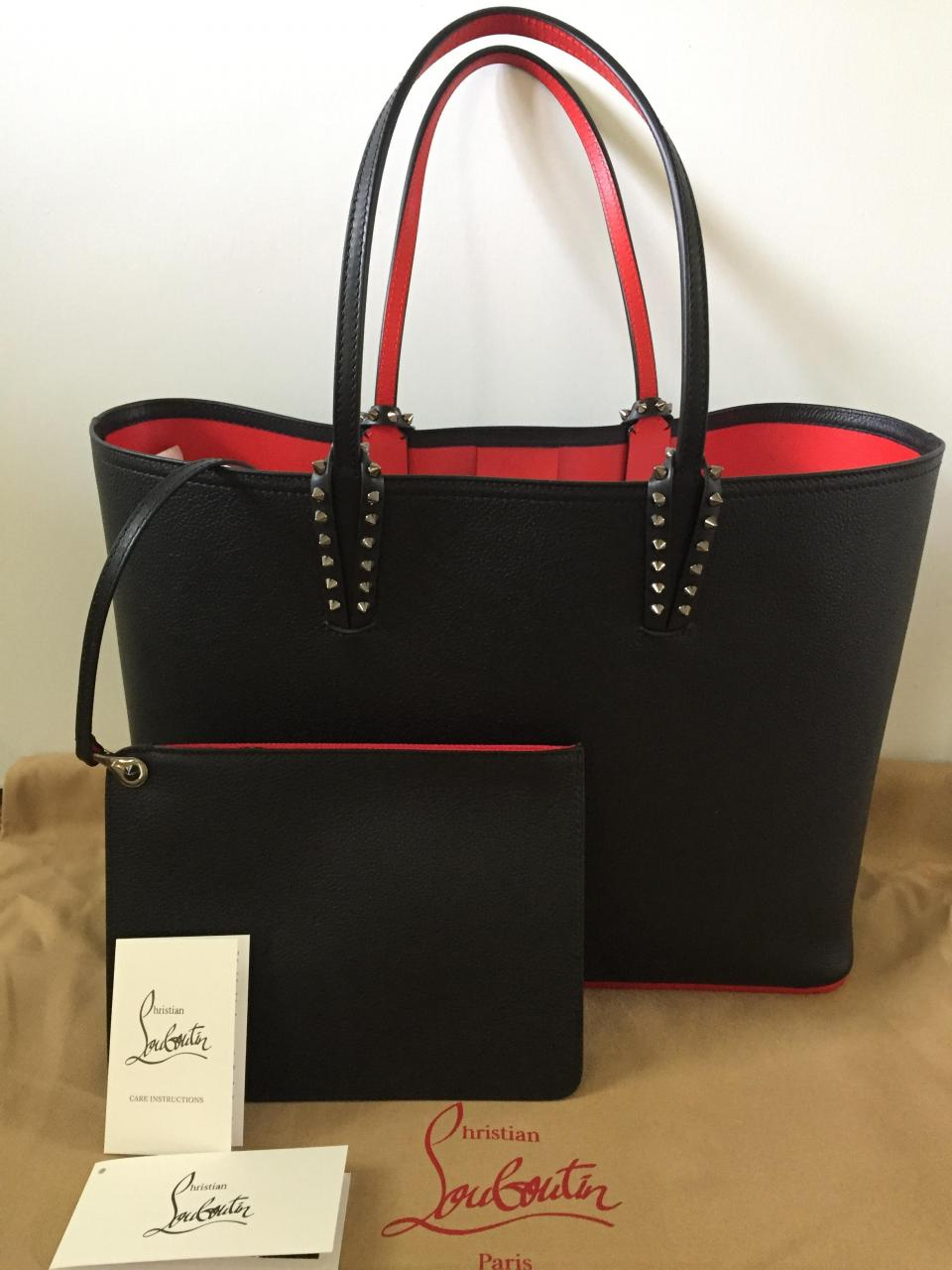 c64e733f02f Handbag Replica Wholesale Center Christian Louboutin - Cabata Black ...